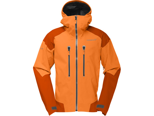 Norrøna Trollveggen Gore-Tex Pro Jacket Herr Pure Orange